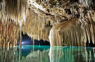 Photo:  Rio Secreto Underground River Riviera Maya, Mexico